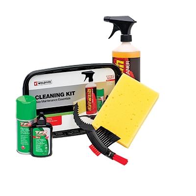 KIT DE NETTOYAGE CONDITIONS SECHES / CLEANING KIT DRY SEAU DE NETTOYAGE BROSSE / LUBRIFIANT / NETTOYANT