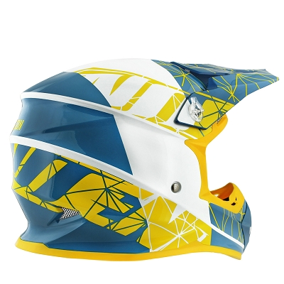 CASQUE CROSS NOEND ORIGAMI ACID SC15     S