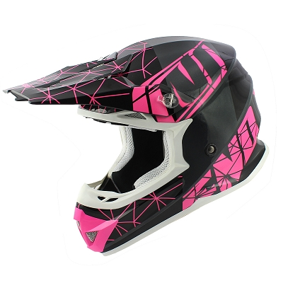 CASQUE CROSS NOEND ORIGAMI GLOSSY PINK SC15     S