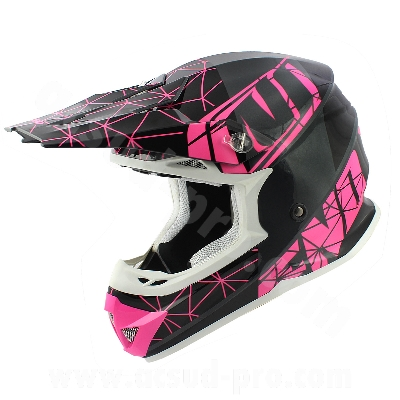 CASQUE CROSS NOEND ORIGAMI GLOSSY PINK SC15 XXL