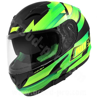 CASQUE INTEGRAL NOEND RACE BY OCD GREEN SA36 DOUBLE VISIERE    M