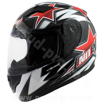 CASQUE INTEGRAL ENFANT NOEND STAR KID BY OCD RED SA36Y YL