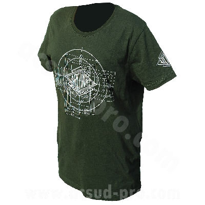 T-SHIRT HOMME MANCHES COURTES ARCHIVE MOTORCYCLE - TAILLE   L