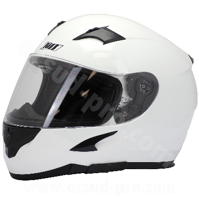 CASQUE INTEGRAL DOUBLE ECRAN NOEND H20-ADVANCE BY ASD RACING BLANC   L