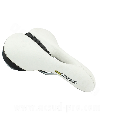 Selle velo confort transam blanche fabricant Cycle Quest